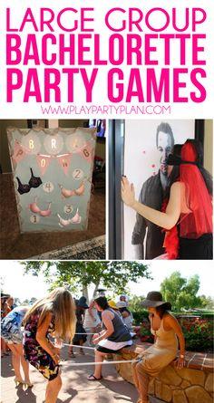 hilarious bachelorette party games