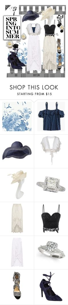 """For a mood - or not"" by mary-kay-de-jesus ❤ liked on Polyvore featuring Designers Guild, J.Crew, Philosophy di Alberta Ferretti, Philip Treacy, River Island, Miguelina, Allurez, Raye and Jeffrey Campbell"