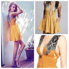 Free People Walking Through Dreams Dress Extra Small $128 FTC #3723