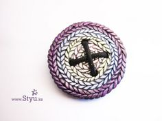 polymer clay buttons/broaches