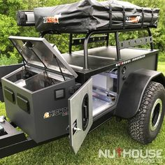 Hickory off road trailer Camping Trailer Diy, Off Road Camper Trailer, Truck Camping, Camper Trailers, Camping Gear, Off Road Teardrop Trailer, Van Camping, Camping Chairs, Camping Outdoors