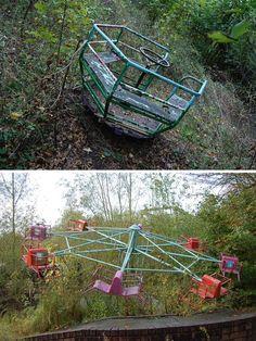 abandoned amusement parks | dadipark abandoned theme park Dadipark, Belgium