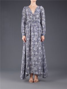 Natalie Martin April Maxi Dress - Shop Zoe Online Natalie Martin, Dress Collection, Hand Embroidery, Silk, My Style, Stylish, Shopping, Dresses, Design