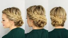 The most adorable, soft, and perfect fishtail bridal updo for my wedding !!! Thanks Missy Sue for this lovely tutorial.