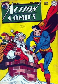 Christmas Comic Book Cover Collection - 25 Posts Of Geek Christmas Day 8