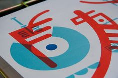 Three Times A Layer collaborative project - silkscreen, riso, letterpress (together with Topo Copy, organised by KOPIJ)
