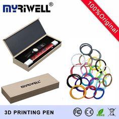 MYRIWELL 100C USB 3D Pen Art Smart Drawing Pen Printing 3D Pens Kids Creative Education Toy Innovate Handle Doodle Pen 3D Model