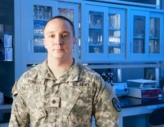 """""""From Soldier to physician at Natick"""" via Soldiers Live: A Natick Soldier Systems Center Soldier already answers to """"specialist."""" Now he'll have to get used to being called """"doctor. Army Tech, Doctor On Call, Soldiers, Men Casual, Live, Mens Tops"""
