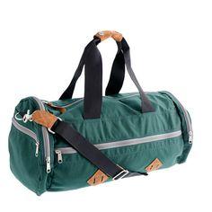 "Bryson gym bag from J.Crew (13""H x 17 1/2""W x 11""D) $98"