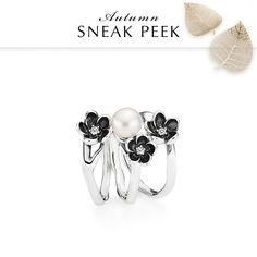c4605400e buy pandora pearl and flower ring 98070 6c010