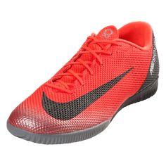 ee5dfde5 ... buy nike mercurial vapor x xii academy cr7 ic indoor soccer shoe bright  crimson black 02ba0