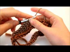 ▶ Beginner Crochet Leg Warmers Left Handed - YouTube