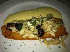 Alternate View Of The Crispy Gulf Drum Entrée At Chef John Besh's La Provence Restaurant In Lacombe, Louisiana.