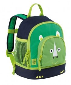 modeherz ♥ Lässig 4Kids Mini Backpack Wildlife Rhino
