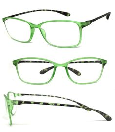 d0b2e2dd0cfd Details about 1 or 3 Pair Womens Reading Glasses Retro Square Colorful Thin  Frame Tortoise Arm