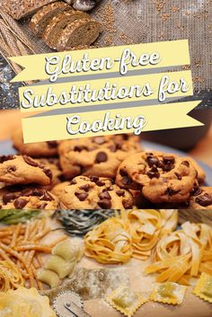 Being gluten-free doesn't mean you can't enjoy your favorite recipes! Find out our gluten-free cooking substitutions here! Gluten Free Grains, Gluten Free Sweets, Gluten Free Dinner, Foods With Gluten, Gluten Free Cooking, Vegan Gluten Free, Dairy Free, Allergy Free Recipes, Gf Recipes