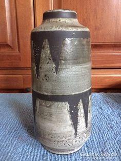 Iparművész kerámia váza/padlóváza - art design ceramic vase Pottery Art, Hungary, Jar, Ceramics, Modern, Home Decor, Ceramica, Pottery, Trendy Tree