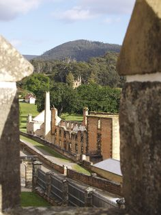 Port Arthur close to Hobart. http://www.ozehols.com.au/blog/tasmania/you-will-fall-in-love-with-tasmania/ #VisitTasmania #TasmaniaHolidays #HobartHolidays @OzeHols - Holiday Accommodation - Holiday Accommodation