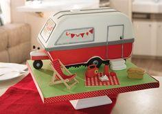 Image result for making a caravan cake