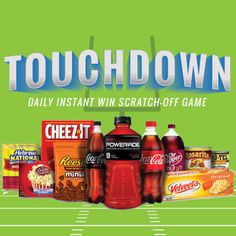 I'm playing the Fred Meyer Game Day Greats Instant Win Scratch-Off Game for a chance to win great prizes daily!