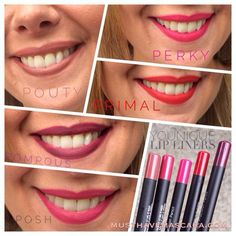 New smudge-free lip liners!   www.youniqueproducts.com/VKon  www.facebook.com/veronica9053  www.facebook.com/pages/Younique-by-Veronica/837247099633307