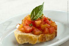 P. J. Clarkes (jantar) Bruscheta de tomate fresco
