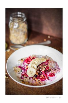 A PINK BREAKFAST BOWL THAT WILL BLOW YOUR MIND – EAT BETTER NOT LESS- Nadia Damaso