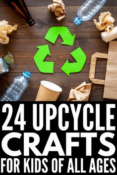 Teach your kids to respect the environment, recycle, and upcycle with this collection of 24 milk jug crafts for kids of all ages! Recycled Crafts Kids, Recycled Art Projects, Easy Diy Crafts, Recycling Projects, Creative Activities For Kids, Crafts For Kids To Make, Projects For Kids, Kids Crafts, Milk Jug Crafts