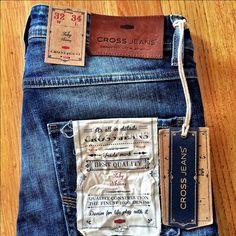 http://instagram.com/cross_jeans / Our New Men Branding #toby #skinny #denim…
