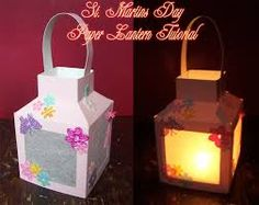 DIY paper lantern tutorial with free printable for small and medium lanterns Diy For Kids, Crafts For Kids, Diy Paper, Paper Crafts, Lantern Crafts, Handmade Lanterns, Halloween Post, Ramadan Crafts, Pot A Crayon