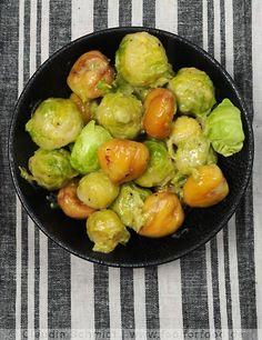 Rosenkohl-Maroni-Gemüse