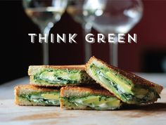 A Healthy and Handsome Grilled Cheese from TasteSpotting