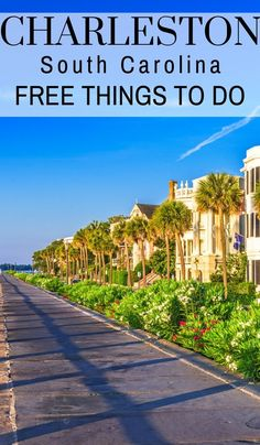 Rich in both US history and old architecture Charleston is full of fun and exciting things to do. Here are some great free things to do in Charleston SC. Places To Travel, Travel Destinations, Places To Visit, Travel With Kids, Family Travel, Charleston Sc Things To Do, Charleston South Carolina, Charleston Sc Hotels, Carolina Beach