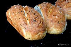 My Recipes, Bread Recipes, Healthy Recipes, Healthy Food, Romanian Food, Romanian Recipes, Just Bake, Yummy Food, Tasty
