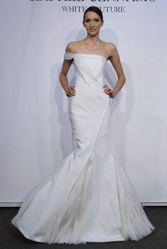 Rafael Cennamo wedding gown, via  OneWed