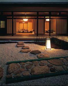 ryokan Japanese garden