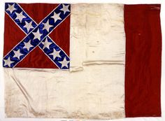 "Third National Flag also known as ""The Blood Stained Banner"" at the MOC"