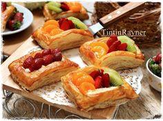 Fruit Puff Pastry Instant - kilat mudah cantik