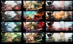 color script 2 by Exphrasis.deviantart.com on @deviantART