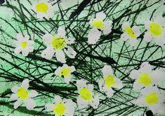 SEDM KRÁS | Výtvarná výchova - experimentováním stechnikami vystihnout sedmikrásky (sedm krás) rostoucí mezi stébly trav (bičomalba, gumotisk, malba vodovkami)    #květiny #rostliny #sedmikrásky #gumotisk #bičomalba #švihání_provázkem #sedm_krás #maskovací_kapalina #plants #flowers #flowergarden #daisy #seven_beauties #flexographic_printing #masking_liquid #flickering_with_string #kidsart #artpainting #artcrafts #art_education Plants, Plant, Planets