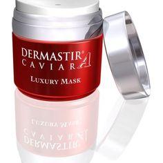 Dermastir Caviar Luxury Mask (Kaviáros bőrtápláló arcpakolás) A Dermastir maszk eltávolítja az elhalt hámsejteket, így a regenerálás mellett tisztítja is az arcbőrt.  http://www.arcfiatalitaspecs.hu/termek/dermastir-caviar-luxury-mask-kaviaros-bortaplalo-arcpakolas/