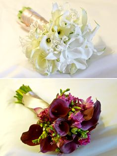 Love these bouquets