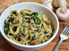 Spinat-Artischocken-Pasta