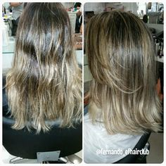 "Efeito ""Multi-Tonalidades""   #efhairclub  #fabricadeloiras #opoderdasmechas  #amagiadascores #cabelospoderosos #ombre #ombrehair   #mechas #salao #balayage #luzes #blondgirls #blonde #blondlife #cutcolor  #highlights #salon #salonlife #instahair #hairdresser #hairstylist #btcpics #hairpost #beautifulhair #moda #cabelos #divas #instaglam @fernando_efhairclub"