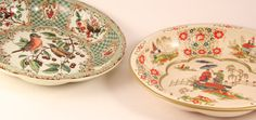 Two Daher Decorated Tin Serving Bowls with by TheTimelyTortoise