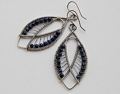 Lapis Lazuli, sterling and Fine Silver