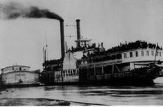 S.S. Sultana held more than seven times its capacity when it sank in the Mississippi River on April 27, 1865.