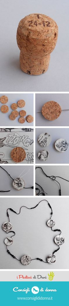 comics necklace