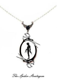 Gotische viktorianische Halskette und von TheSpiderStratagem