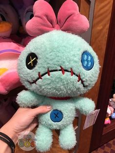 New & Exclusive at Tokyo Disney Resort - Fluffy Plush - Scrump